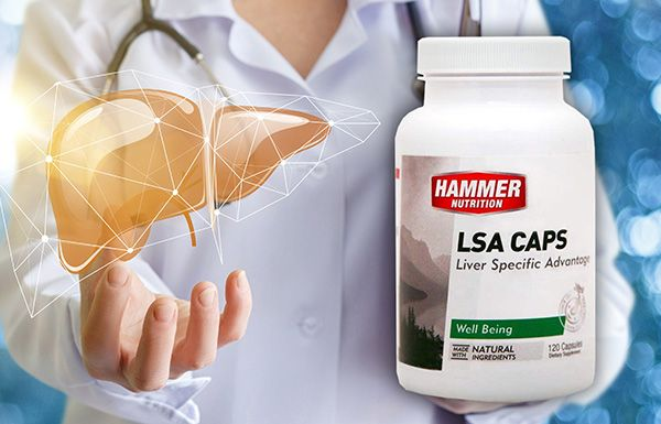 LSA Caps for Essential Liver Performance